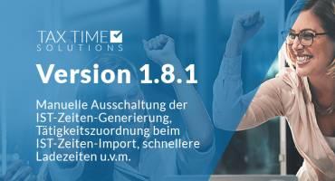 Change-Log TTS 1.8.1