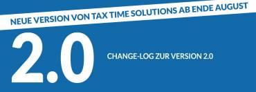 Change-Log zur Version 2.0
