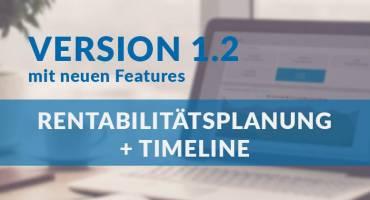 Version 1.2 ist auf dem Weg!