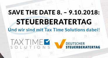 SAVE THE DATE 8. – 9.10.2018: Steuerberatertag