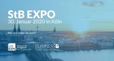 Mit TTS auf der StB EXPO 2020
